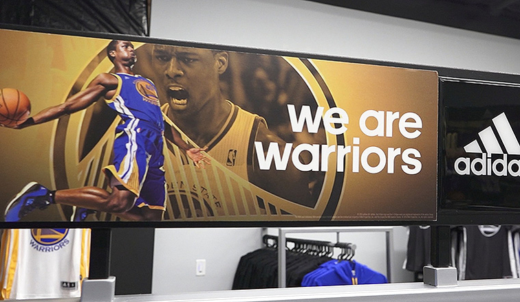 Warriors Team Store - New Location