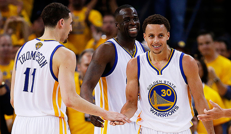 2ae8b09e9fa Stephen Curry and the 2015 NBA Champion Golden State Warriors Top NBA's  Most Popular Merchandise Lists