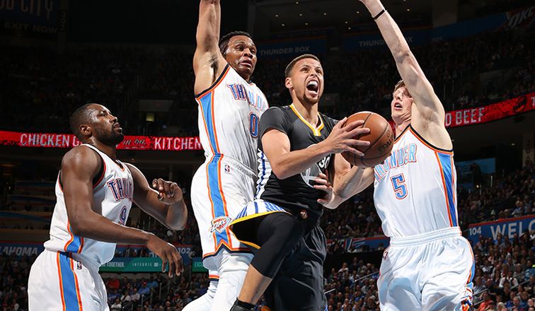 2462e46cea8 Warriors Stun Thunder With Comeback Overtime Victory