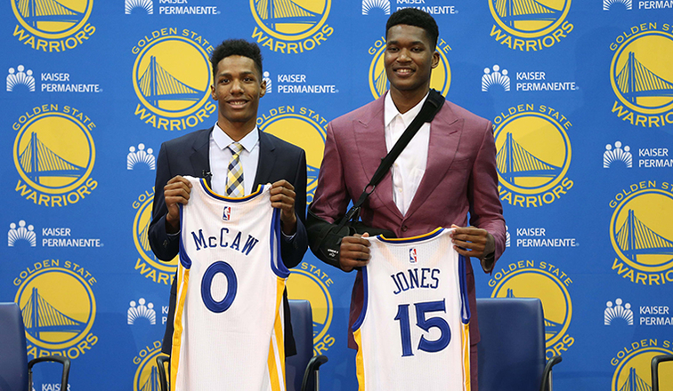 29091bfe5aa The New Guys  3 Things to Know About Jones   McCaw