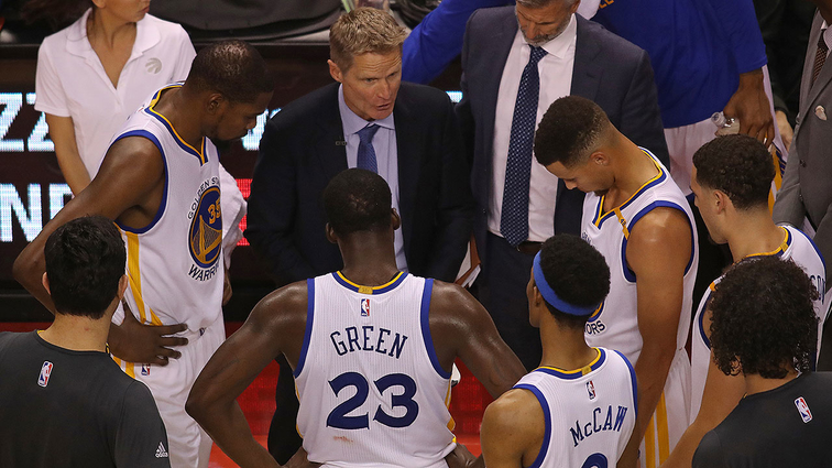 Steve Kerr Named Western Conference Coach of the Month