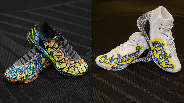 540b47cd751 Stephen Curry to Auction Off Game-Worn Shoes to Benefit Oakland Fire Relief