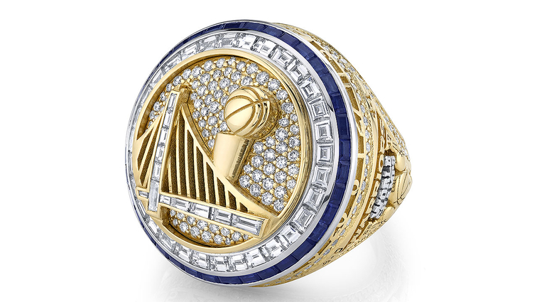 Warriors Unveil 2016-17 NBA Championship Rings at Opening Night | Golden State Warriors