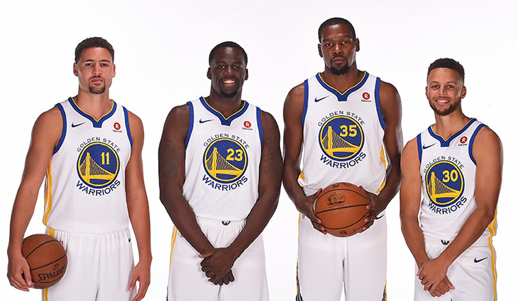 465f07fd9 Durant and Curry Lead Western Conference in First Fan Returns of NBA All-Star  Voting