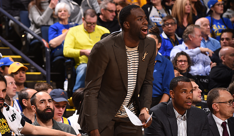 Move over, Steve Kerr: Coach Draymond Green helps Warriors rout Suns