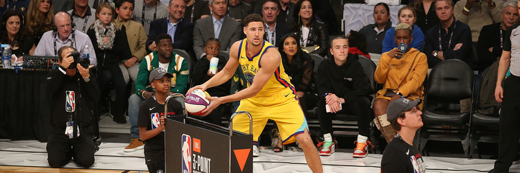 Klay Scores 25 and Loses in 3-Point Contest Final