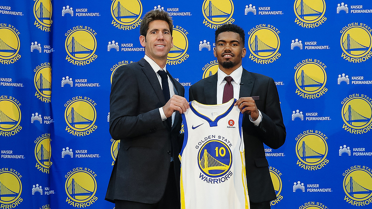 20f6984cd312 Warriors Sign Jacob Evans to Contract