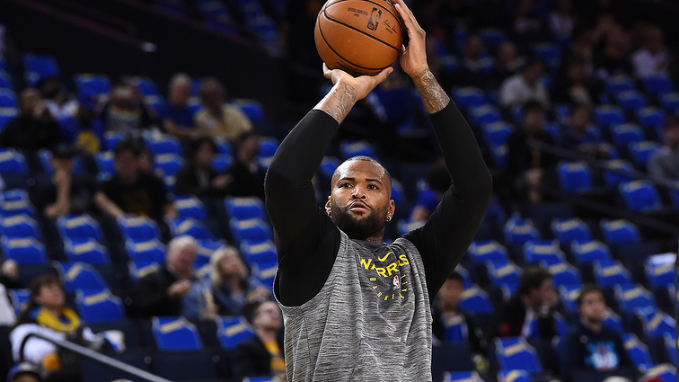 Warriors' Cousins practicing with G-League team