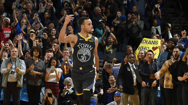 c24f29d63 Curry Ranks Second in West in First Fan Returns of NBA All-Star Voting