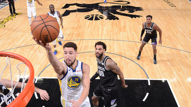 Curry, Warriors fire away, beat Kings in 3-point contest