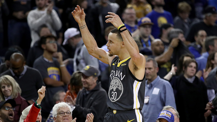 077ce8f5c Stephen Curry Continues to Lead Western Conference Guards in Third Returns  of NBA All-Star Voting  2019 All-Star Draft to Air Feb. 7