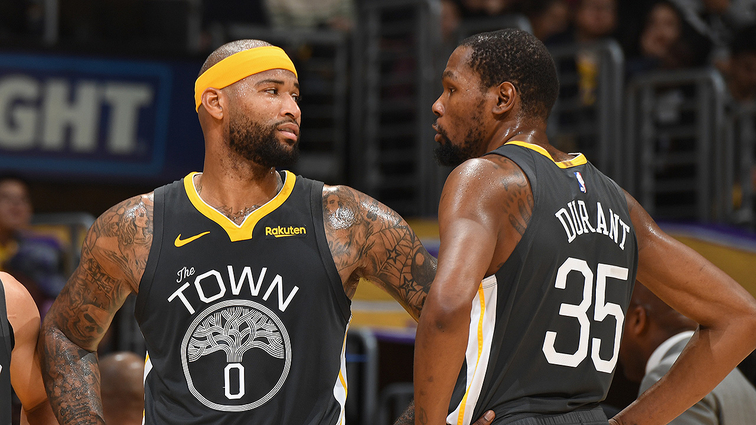 c9fdd5eb4f40 Injury Update  Kevin Durant and DeMarcus Cousins