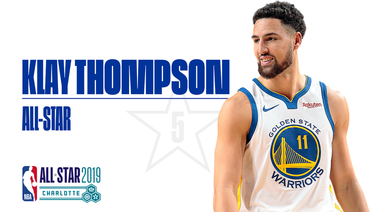 aa511997ae89 Warriors Guard Klay Thompson Selected as 2019 All-Star Reserve ...