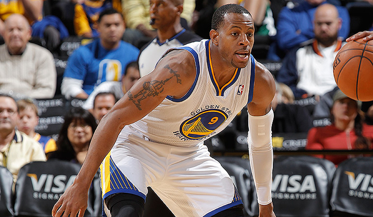 Andre Iguodala has been named to the 2013-14 NBA All-Defensive First Team