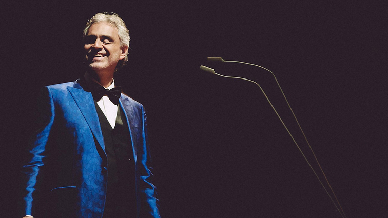 Warriors and Chase Center Announce Andrea Bocelli Show