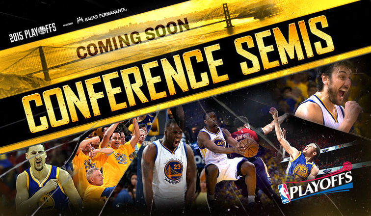 Warriors Advance to Western Conference Semifinals | Golden ...