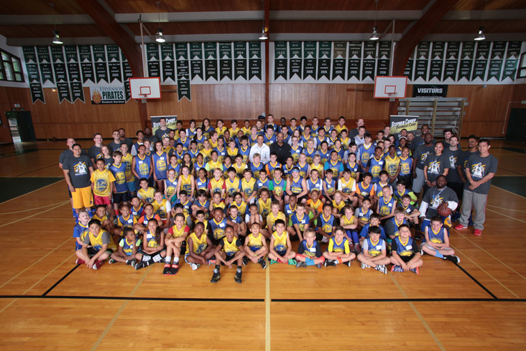 Stephen Curry Overnight Camp 2014