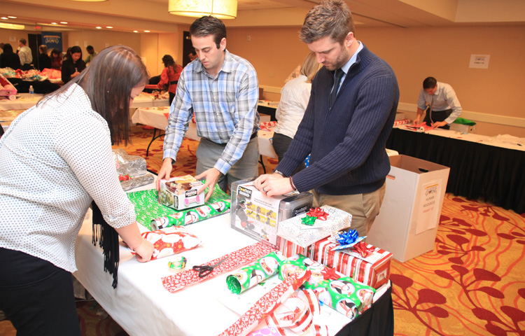 Helping Hands Adopt-A-Family Event