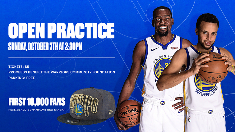 c821f825a6f8 Warriors to Hold Open Practice Sunday