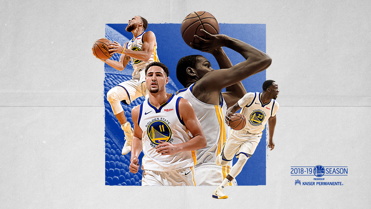 6a567dab028 Back-To-Back NBA Champion Golden State Warriors Announce 2018-19 Season  Schedule
