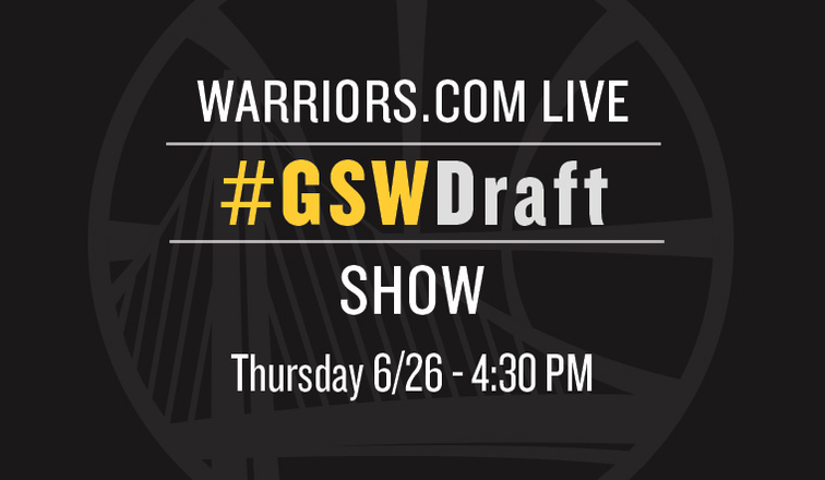 Warriors.com Live Draft Show