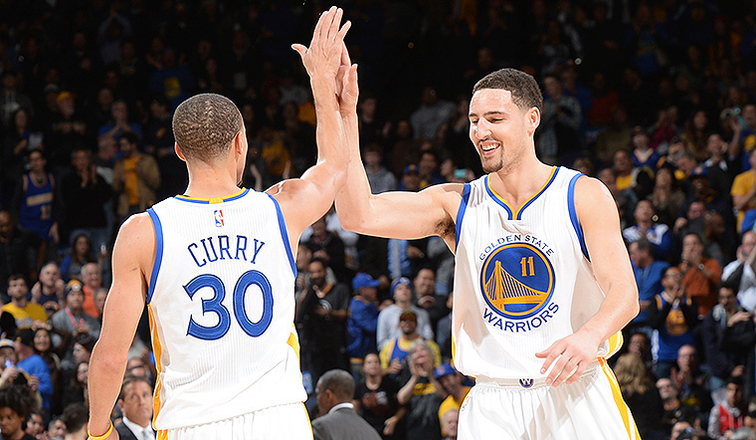 543ea0ed186 Stephen Curry and Klay Thompson Named to 2014-15 All-NBA Teams ...