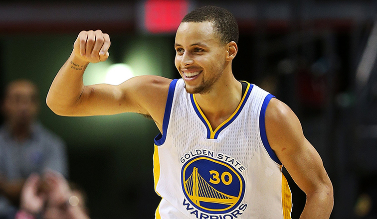 Liga baloncesto NBA - Stephan Curry
