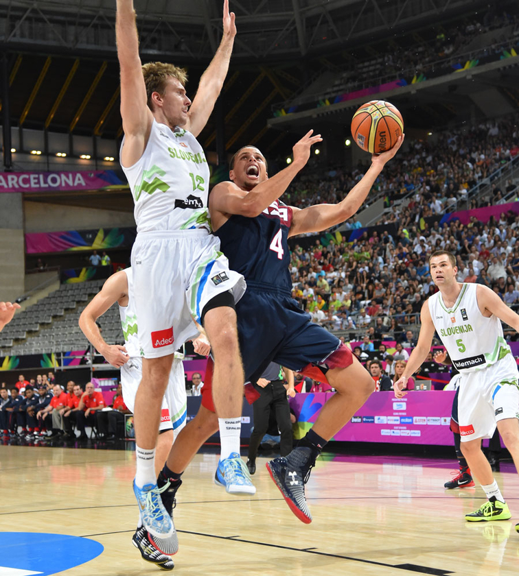 2014 FIBA World Cup: USA vs. Slovenia - 9/9/14