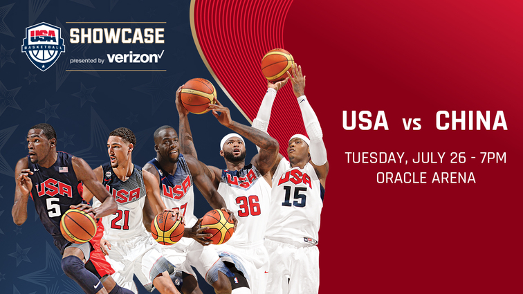 Oracle Arena to Host 2016 USA Basketball Showcase Exhibition Game July 26