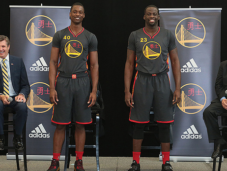 Warriors Unveil First-Ever Chinese New Year Uniforms