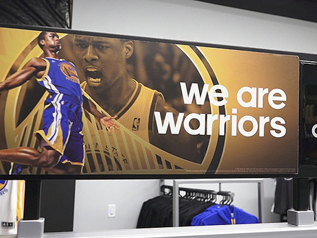 Warriors Open New Adidas Team Store at Oracle Arena