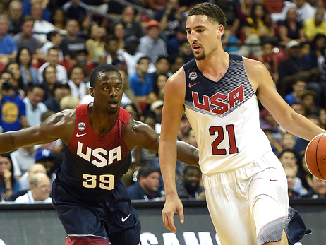 Harrison Barnes, Draymond Green & Klay Thompson to Compete with Team USA at 2016 Olympic Games