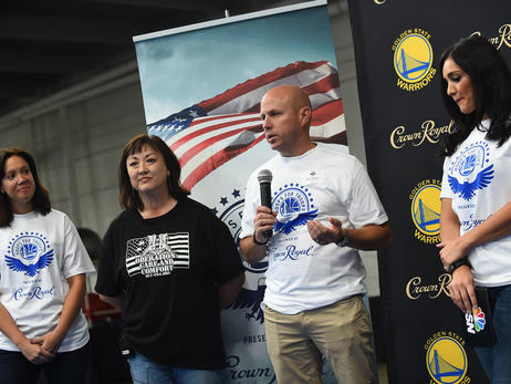 Photos: Hoops for Troops Care Package Assembly with Crown Royal