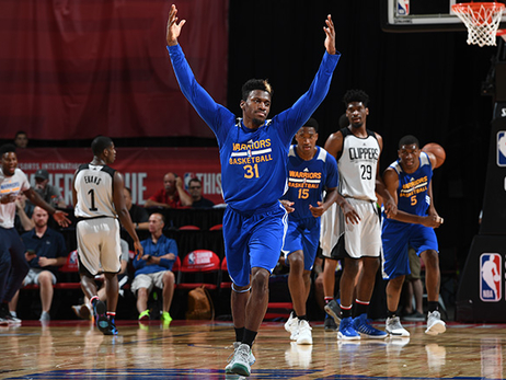 Warriors Conclude Summer League With Victory Over Clippers