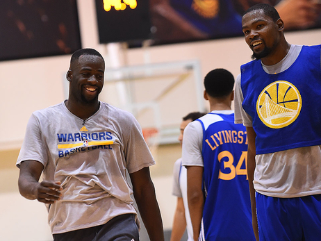 Warriors Announce Roster and Schedule for 2017 Training Camp, Fueled by Gatorade