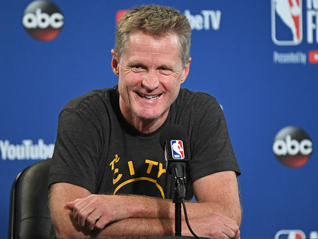 Warriors Sign Head Coach Steve Kerr To Contract Extension