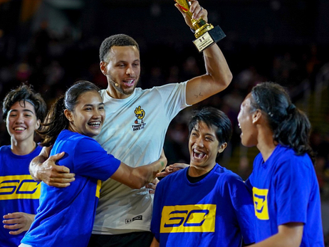 Where in the World is Stephen Curry?