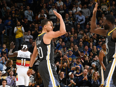 Second-half Surge Lifts Dubs Over Pelicans