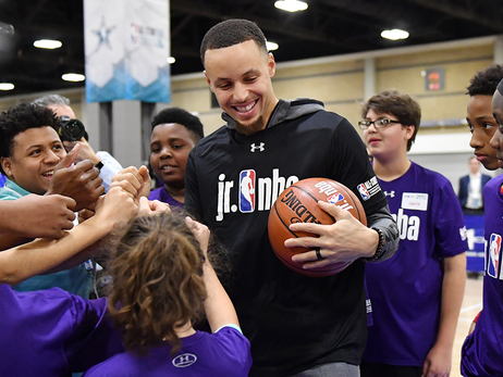 Stephen Curry's All-Star Tipoff