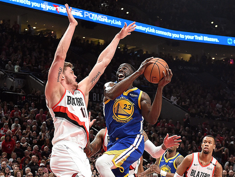 Game 4 Preview: Warriors at Trail Blazers