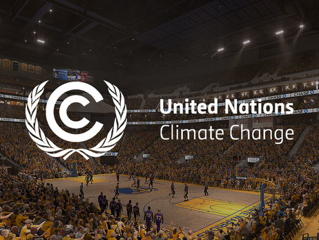 Warriors and Chase Center Sign UN Sports for Climate Action Initiative
