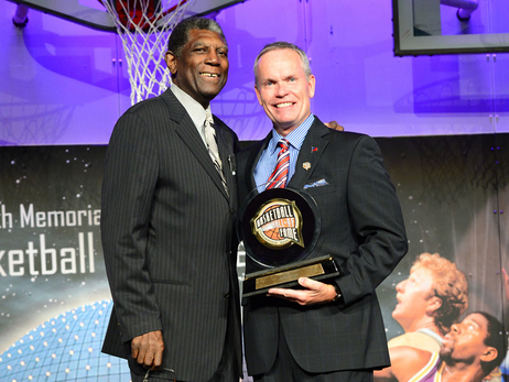 Al Attles Honored with Hall of Fame Bunn Lifetime Achievement Award