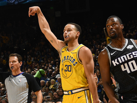 Curry's Latest Flurry Made History