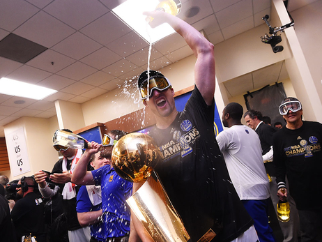 Warriors React To 2017 NBA Championship