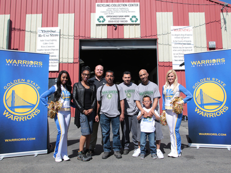 E-Waste Recycling Event at Universal Waste Management