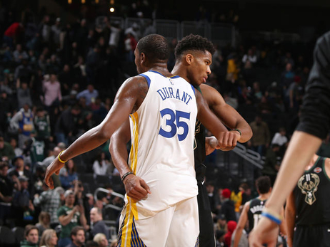 Photos: Warriors at Bucks - 12/7/18
