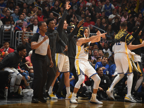 Photos: Warriors at Clippers - 4/21/19