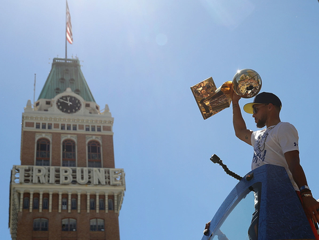 Photos: 2018 Warriors Championship Parade