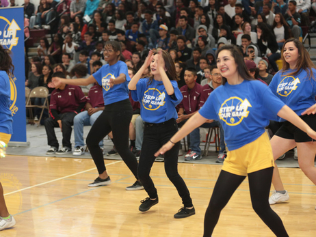 Step Up Your Game School Rally Dance Performance - 4/24/15