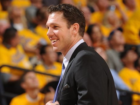 Lakers Announce Agreement with Luke Walton to Become New Head Coach